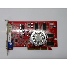 Видеокарта AGP 128 MB ATi Radeon 9600 128 bit DVI/VGA/TV-out