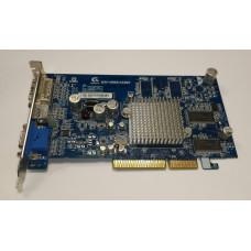 Видеокарта AGP 128 MB ATi Radeon 9600 PRO 64 bit DVI/VGA/TV-out