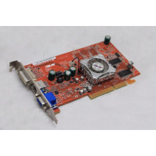 Видеокарта AGP 128 MB ATi Radeon A9600SE Asus 64 bit DVI/VGA/TV-out