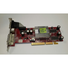 Видеокарта AGP 128 Mb ATi Radeon 9550 64 bit DVI/VGA/TV-out