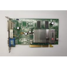 Видеокарта AGP 128 Mb ATi Radeon 9600 128 bit DVI/VGA/TV-out