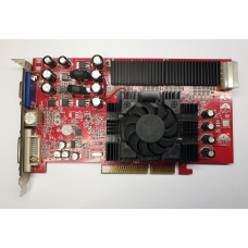 Видеокарта AGP 128 Mb ATi Radeon 9700 PRO 128 bit DDR DVI/VGA/TV-out