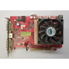 Видеокарта AGP 256 Mb ATi Radeon HD2600 Pro 128 bit DDR2 Dual DVI/TV-out