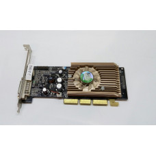 Видеокарта AGP 128 Mb GeForce 6200A 64 bit DDR2 DVI/TV-out