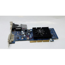 Видеокарта AGP 512 MB GeForce 6200 64 bit DDR2 DVI/VGA