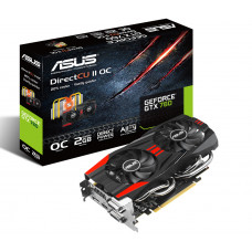 Видеокарта PCI-E 2048 Mb GeForce GTX 760 Asus 256bit GDDR5 DisplayPort/HDMI/Dual DVI