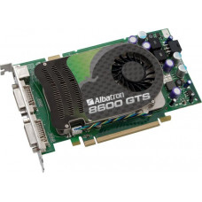 Видеокарта PCI-E 256 Mb GeForce 8600GTS Albatron 128 bit DDR3 Dual DVI/TV-out