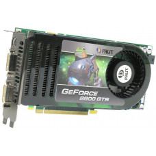 Видеокарта PCI-E 640 Mb GeForce 8800 GTS Palit 320 bit DDR3 Dual DVI/TV-out