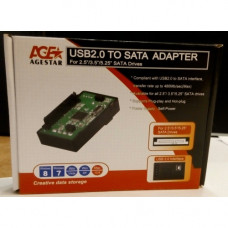 Контроллер AgeStar U2-SATA11 USB 2.0 to SATA