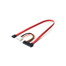 Кабель SATA 7+15 pin to SATA 7P and molex