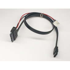 Кабель Slimline SATA to SATA 7P and 2 pin