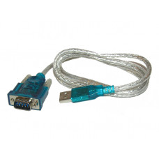 Кабель USB to com-port 1.2m (VCOM USB-RS232) (новый)