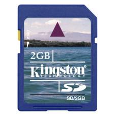 Карта памяти SD 2 Gb Kingston