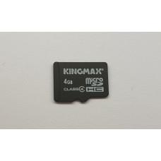 Карта памяти microSDHC 4 Gb KINGMAX class4 (б/у)