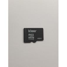 Карта памяти microSDHC 4 Gb kleer class4 (б/у)