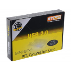 Контроллер PCI USB 2.0 x2 ST-Lab U-164 (новый)