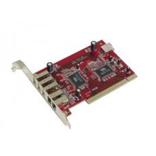 Контроллер PCI USB 2.0 x3 / IEEE 1394 x2 VTS2221A3