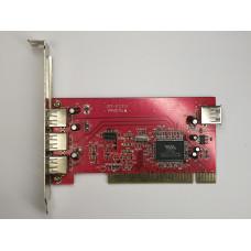 Контроллер PCI USB 2.0 x3 VIA VT6202