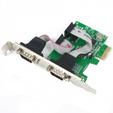 Контроллер PCI-E com-port x2 DW-CH382LV2