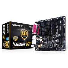 Материнская плата FCBGA 1170 GIGABYTE GA-N3050N-D2P DDR3 x2/PCI/LPT/com-port/VGA/USB 3.0 x4/HDMI/LAN/SB/mini-ITX (новая)