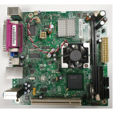 Материнская плата PBGA 437 Intel D945GCLF Intel 945GC DDR2/PCI/PS-2 x2/LPT/com-port/VGA/USB 2.0 x4/LAN/SB/mini-ITX