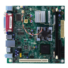 Материнская плата PBGA 437 Intel D945GCLF2 Intel 945GC DDR2/PCI/PS-2 x2/LPT/com-port/VGA/USB 2.0 x4/LAN/S-Video/SB/mini-ITX