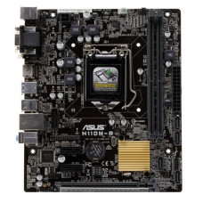 Материнская плата LGA 1151 ASUS H110M-R Intel H110 DDR4 x2/PCI-E x3/PS-2 x2/DVI/VGA/HDMI/USB 3.0 x2/USB 2.0 x4/SB/LAN/microATX
