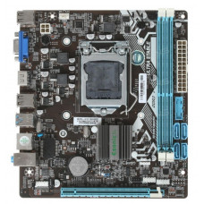 Материнская плата LGA 1155 Esonic H61FEL-U Intel H61 DDR3 x2/PCI-E/VGA/HDMI/USB 3.0 x2/USB 2.0 x4/LAN/SB/microATX (новая)