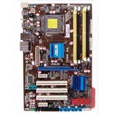 Материнская плата LGA 775 ASUS P5Q SE Intel P45 DDR2 x4/PCI-E x3/PCI x3/PS-2 x2/USB 2.0 x6/s-pdif/LAN/SB/ATX