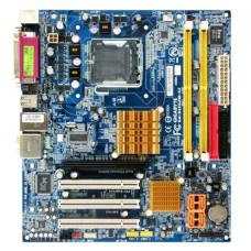 Материнская плата LGA 775 Gigabyte GA-945GZM-S2 Intel 945GZ DDR2 x2/PCI-E/PCI x3/LAN/LPT/SB/VGA/com-port/USB 2.0 x4/PS-2 x2/microATX