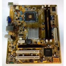Материнская плата LGA 775 Pegatron IPM31 Intel G31 DDR2 x 4/PCI-E x2/PCI x2/USB 2.0 x4/VGA/PS-2 x2/LAN/SB/microATX