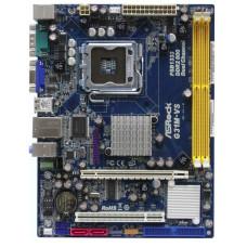 Материнская плата LGA 775 ASRock G31M-VS Intel G31 DDR2 x2/PCI-E/PCI/com-port/SB/VGA/LAN/PS-2 x2/USB 2.0 x4/microATX (не работает первый разъем для оперативной памяти)