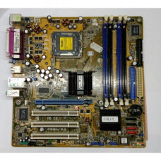 Материнская плата LGA 775 ASUS P5GL-MX Intel 915GL DDR x4/PCI-E/PCI x3/LAN/USB 2.0 x4/PS-2 x2/SB/LPT/microATX