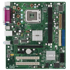 Материнская плата LGA 775 Intel D101GGC ATi Radeon XPRESS 200 DDR x2/PCI-E x2/PCI x2/VGA/USB 2.0 x4/LPT/PS-2 x2/LAN/SB/com-port/microATX