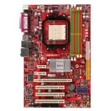 Материнская плата Socket AM2 MSI K9N Neo V3 MS-7369 NVIDIA nForce 550 DDR2 x 4/PCI-E x3/PCI x3/PS-2 x2/com-port/LPT/USB 2.0 x4/LAN/SB/ATX