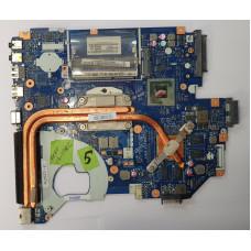 Материнская плата от ноутбука Acer V3-571G (P5WE0 LA-6901P rev:2.0) / Процессор PGA988 Intel Core i3-2330M 2.20 GHz 3M/35 Вт (+ радиатор охлаждения)