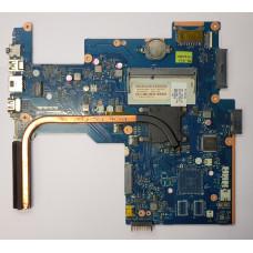 Материнская плата от ноутбука HP 15-g001sr (ZSO51 LA-A996P rev:1.0) / Процессор FT3 AMD E1-2100 1.00 GHz 64bit/9 Вт (+ радиатор охлаждения)