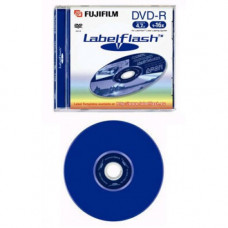 Диск DVD-R 12 см Fujifilm LabelFlash 4.7 Gb (новый)