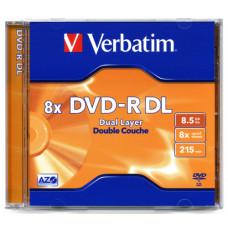 Диск DVD-R 12 см Verbatim 8.5 Gb (новый)