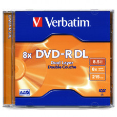 Диск DVD-R 12cm Verbatim 8,5 Gb (новый)
