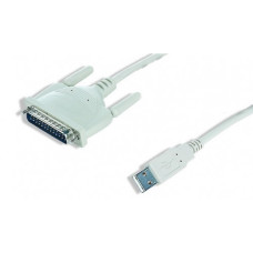 Кабель Штрих-М USB 2.0 to DB25 1.8m (+ переходник to com-port 9 pin)