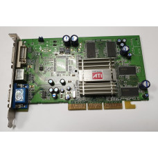 Видеокарта AGP 128 Mb ATi Radeon 9250 DVI/VGA/TV-out