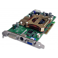 Видеокарта AGP 128 Mb GeForce FX5600 ASUS 128 bit DDR DVI/VGA/TV-out