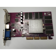 Видеокарта AGP 128 Mb GeForce4 MX440 8X 128bit DDR DVI/VGA/TV-out
