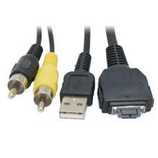 Кабель Sony VMC-MHC1 to RCA x2 / USB