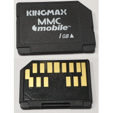 Карта памяти MMCmobile 1 Gb Kingmax