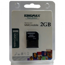 Карта памяти MMCmobile 2 Gb Kingmax with Adapter (новая)