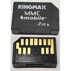 Карта памяти MMCmobile 2 Gb Kingmax