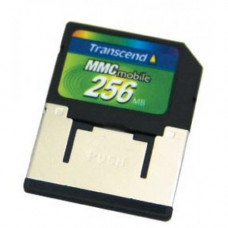 Карта памяти MMCmobile 256 Mb Transcend with Adapter