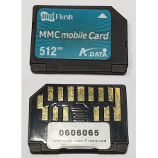 Карта памяти MMCmobile 512 Mb ADATA My Flash